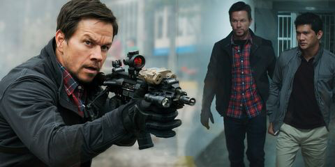 Mark Wahlberg & Iko Uwais (Mile 22)